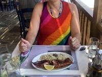 2020 09 13 Apella Beach Hauptspeisen perfekt in der Taverne