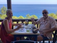 2020 09 13 Apella Beach Wunderschöner Ausblick beim Mittagessen
