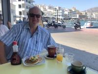2020 09 15 Pigadia perfektes Frühstück in der Hafenpromenade