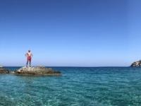 2020 09 13 Apella Beach mit Felsen