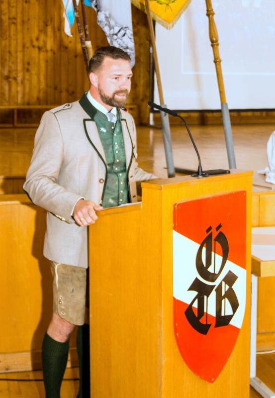Grussworte ÖTB Bundesgeschäftsführer Peter Hametner