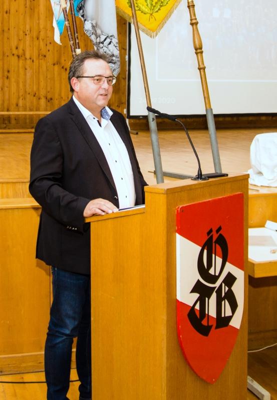 Grussworte von Neumarkts Bürgermeister Herbert Ollinger