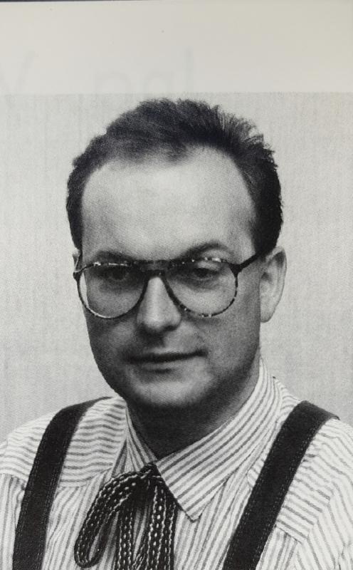 1994 Porträt im ersten Jahr als Obmann