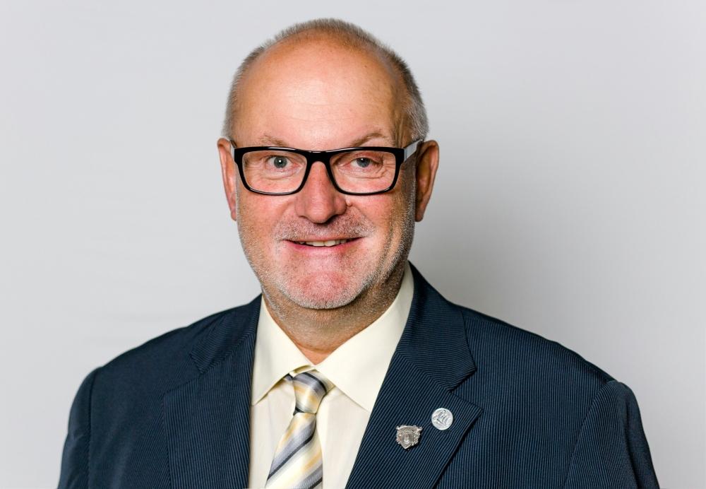 Porträt Ehrenobmann Gerald Stutz bei der JHV 25 09 2020