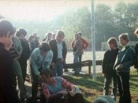 1973 10 26 Der Spielmannszug reist zum Sportpressefest nach Schüttorf in die BRD_2 von rechts Gerald Stutz
