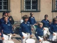 1975 08 24 Konzertreise Laboe Konzert in Bamber erste Reihe links Gerald Stutz
