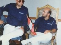 1993 06 25 Amerikatournee des Spielmannszuges Österreichische Botschaft in Washington mit Manfred Schöberl