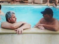 2010 07 03 Spielmannszug Sommerfest im Hause von Roland Lakovsel mit Freund Helmut Gföllner