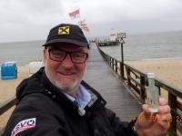 2016 06 27 Spielmannszug Konzertreise Kiel Wasserentnahme Nordsee in Wyk auf der Insel Föhr