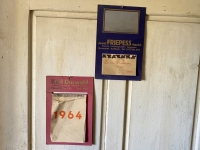 Kalender aus dem Geburtsjahr des Museumsbesitzers