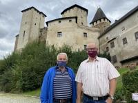 2020 09 29 Burg Lockenhaus mit ASVÖ Pepi mit Mundschutz