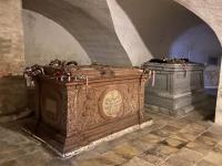2020 09 29 Kirche Lockenhaus Krypta mit Esterhazy Sarkophage