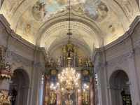 2020 09 29 Kirche Lockenhaus mit Erntedankkrone