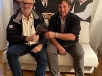 2020 09 29 Weingut Wachter Deutsch Schützen Familienfoto mit Chef Bürgermeister Franz