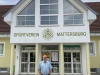 2020 10 01 Geschlossenes Stadion des SV Mattersburg trauriger Anblick