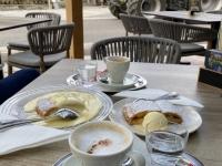 Kaffee und Kuchen nach dem Schiederweiher in Hinterstoder