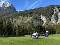 Polizei Hubschrauberübung