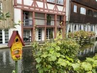 2020 10 11 Ulm Fischerviertel Kanal Große Blau