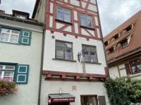 2020 10 11 Ulm Unser Hotel schmales Haus