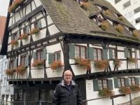 2020 10 11 Ulm schiefstes Hotel der Welt
