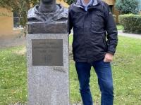 2020 10 12 Fuggerei Denkmal Gründer Jakob Fugger