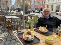 2020 10 13 Landshut Currywurst extra im Freien von Körry Karl