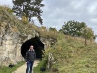 Deutschland Höhlen im Jura Vogelherdhöhle