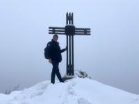 Gipfelkreuz bei der Ennser Hütte