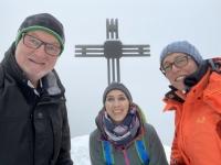 Gipfelkreuz erstürmt