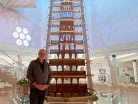 Wenschitz Höchster Schokoladenbrunnen der Welt mit 1227 Zentimeter
