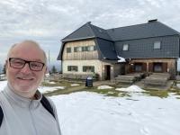 Hochleckenhaus mit Schnee