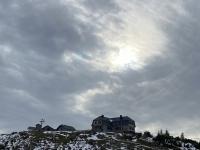 Letzter Blick zurück auf das Hochleckenhaus