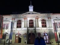 2020 10 23 Weitra Rathaus bei Nacht