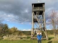 2020 10 24 Hirschenschlag Aussichtswarte 20 Meter vor Tschechien