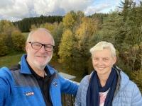 2020 10 24 Schrems Naturpark Blick  herrlicher Ausblick von der Himmelsleiter