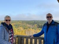 2020 10 25 Gmünd Naturpark Blockheide Blick von der Aussichtswarte