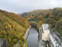 2020 10 25 Stausee Ottenstein Pumpspeicherkraftwerk Ottenstein