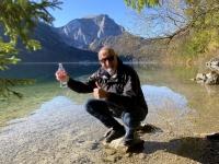 Erfolgreiche Wasserentnahme Vorderer Langbathsee