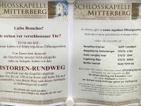 Beschreibung Schlosskapelle