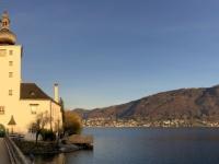 Seeschloss Orth mit Traunstein