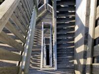 210 Stufen sind zu bewältigen