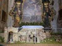 Krippe in der Kirche
