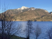 Fahrt nach Strobl entlang des Wolfgangsees