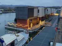 Winterhafen Hausboote