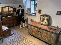 Bemalte Bauernmöbel von 1798