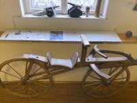 Erfindung des Laufrades im Jahre 1816 von Drais