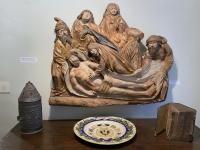 Gotikraum Grablegung Christi
