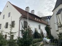 Heimathaus mit Christbaumverkauf