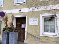 Hueber Haus hier wohnte die Schwester von Anton Bruckner