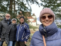 Gruppenfoto mit Fam Kramer